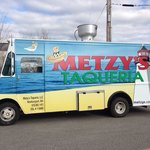 Amazing food at Metzy's Taqueria, make sure to 'Like' on Facebook for times and locations!