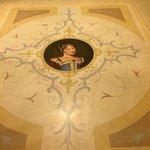 The Beautiful Floor in the hallway