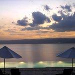 Sunset Views at the Dead Sea Jordan