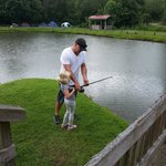 Fishing in Adventure Village