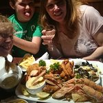 Seafood platter yum