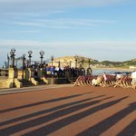 Evening entertaining at the Bandstand