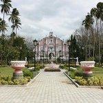 the villa..
