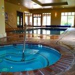 Indoor Pool; Aug 2 2014