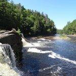 Waterfall - Presque Isle Area