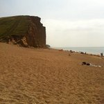 Beautiful beach at West Bay