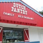 Outside at the Dutch Pantry
