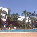 Fantastic flowery swimming pool!