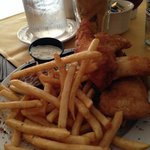 Walleye and fries