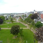 View of Eyre Square from Room 530