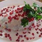 Deliciosos chiles en nogada que podras disfrutar jueves y viernes!!!!