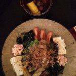 Takara Salad and Japanese Pickles.
