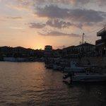 Sunsetting over Agios Nikolaos