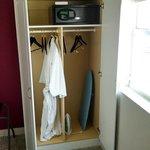 Cramped closet