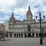 Ayuntamiento de A Coruna (Plaza de María Pita)