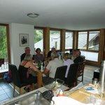 Middag i stuen