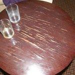 Worn table