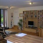 Owl Barn lounge area