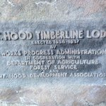 Timberline Lodge Sign