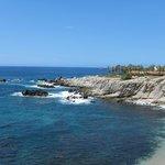 Coastline at the Esperanza, Cabo San Lucas