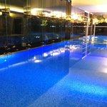 29 meter pool on 42d floor of new tower