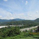 Looking towards Waynesville