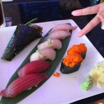 Sushi for late breakfast!