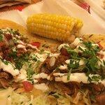Fish Tacos and Corn