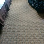 Carpet very new and clean
