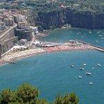 A view along he Amalfi coast