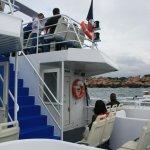 sull'imbarcazione