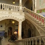 Main staircase - our room was the next floor up