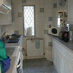 kitchen at Dovecote