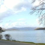 Panoramic view of Loch Lomond from Cameron House