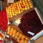 Beautifully displayed fruit