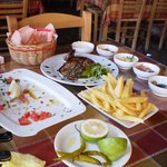 all you can eat mezes for two