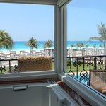 View from the jacuzzi tub