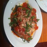 Involtini alle melanzane $9 eggplant – lightly floured, grilled & rolled, stuffed with roasted r
