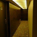 hallway to room 405