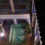 Vista interior desde la terraza
