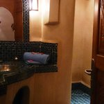 Baño de la habitacion superior