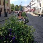 Along the Karl Johan street