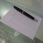 pen/writing pad