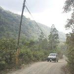 The route to San Gerardo