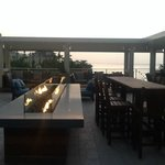 Fit Pit Roof Top Bar at Sunset