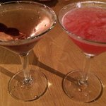 Worth every cent - dirty martini and Cosmo $15 ea