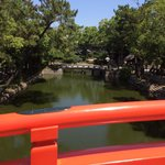 太鼓橋からの風景