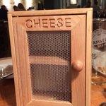 Fabulous cheese cupboard