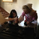 learning how the printing press works