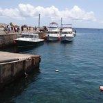 Fort Bay, o porto de Saba